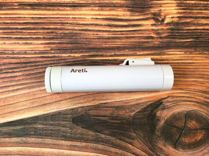 Areti Puzzleカールアイロンi703 22mmコンパクトで旅行にぴったり